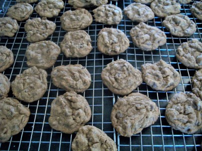 Cinnamon and Espresso Chocolate Chip Cookies